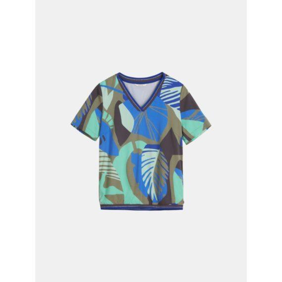 T-shirt met organische print