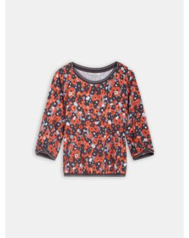 Top met aquarel bloemenprint